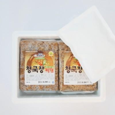 [회룡포 장수진품] 청국장 찌개 500g 1개