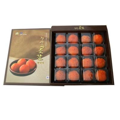 [옥성감영농조합법인] 정성곶감/반건시1호/0.9kg(55g이상*16개)