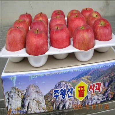 [청송우가네사과] (특)청송부사 4kg(12과)