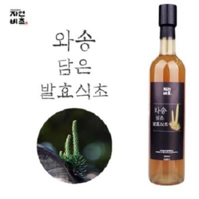 [농업회사법인(주)들산초] 자연비초/와송(바위솔) 담은 발효식초/와송식초