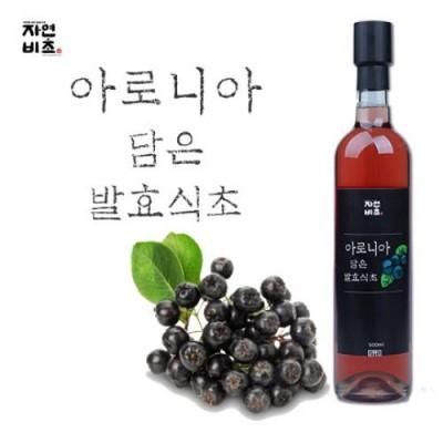 [농업회사법인(주)들산초] 자연비초/아로니아 담은 발효식초/아로니아식초