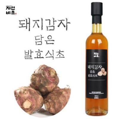 [농업회사법인(주)들산초] 자연비초/돼지감자 담은 발효식초/돼지감자식초