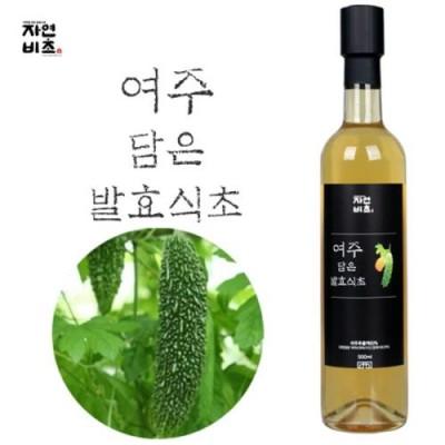 [농업회사법인(주)들산초] 자연비초/여주 담은 발효식초/여주식초