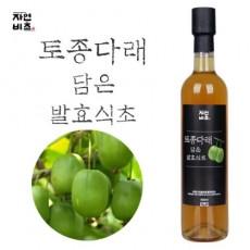 [농업회사법인(주)들산초] 자연비초/토종다래 담은 발효식초/토종다래식초