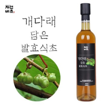 [농업회사법인(주)들산초] 자연비초/개다래 담은 발효식초/개다래식초
