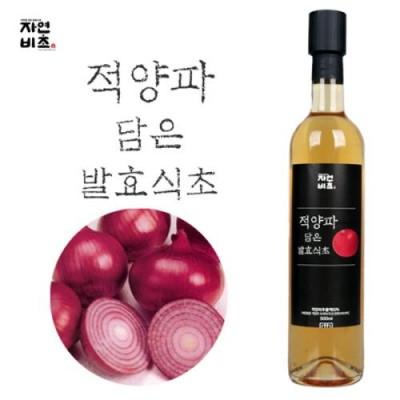 [농업회사법인(주)들산초] 자연비초/적양파 담은 발효식초/적양파식초