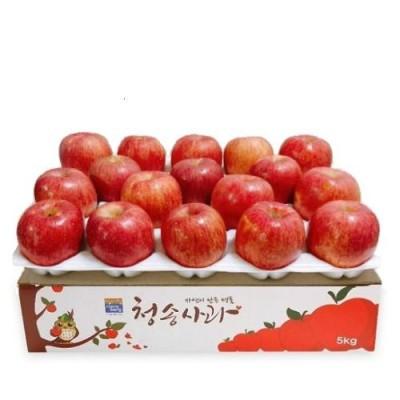 [영농조합법인 자연과사람] 까치밥청송사과 정품 5kg(13~14과)
