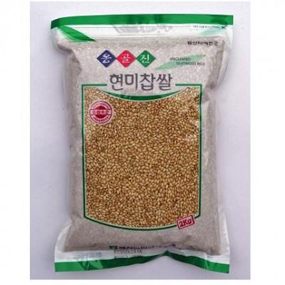 [예천농협 농산물유통사업소] 예천농협 옹골진 찹쌀(현미) 2kg
