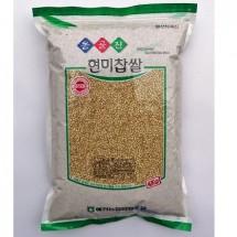 [예천농협 농산물유통사업소] 예천농협 옹골진 찹쌀(현미) 4kg