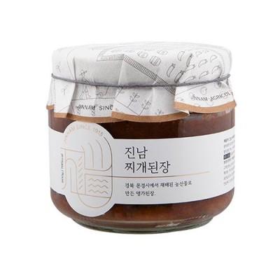 진남 찌개된장 유리병  500g/전통장/발효식품/명절선물
