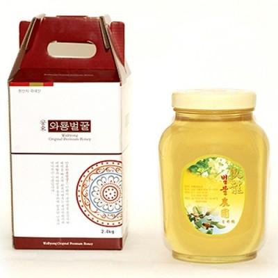 와룡벌꿀농원 아카시아 꿀 2.4kg