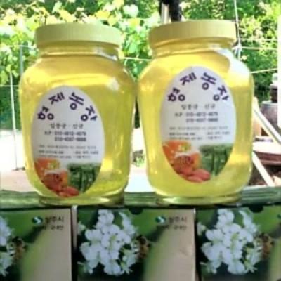 [형제농장] 아카시아 꿀 2.4kg