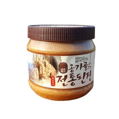 [경북전통된장마을] 옹기골 전통된장 1Kg