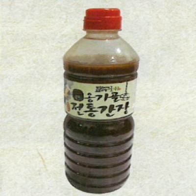 [경북전통된장마을] 옹기골 전통간장 1리터