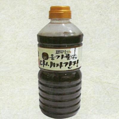 [경북전통된장마을] 옹기골 다시마 간장 1리터