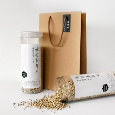[송이네농장] 경북의성 토종 볶은 홍화씨 선물세트 1kg