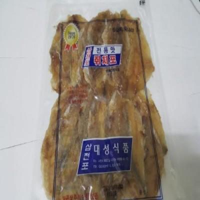 [웰빙건어물]국산쥐포 삼천포쥐포 국산쥐치포 한봉 300g