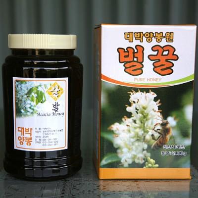 [대박양봉원/벌꿀] 밤꿀 2.4kg