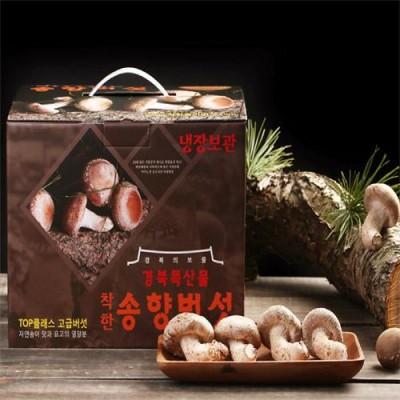[착한송이버섯]착한송이송향버섯 고급형(선물용) 500g 무농약